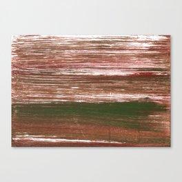 Van Dyke Brown abstract watercolor Canvas Print
