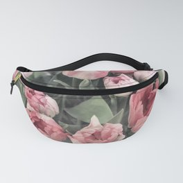 Soft Pink Tulips Fanny Pack