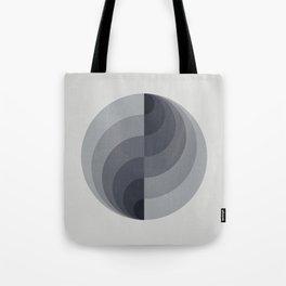 Marble Gray Globe LT Tote Bag