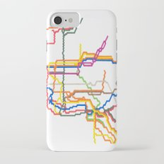 NYC Subway System (Complete) Slim Case iPhone 7