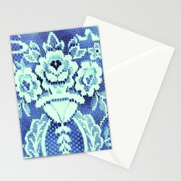 Somethings Laced Blue.  Stationery Cards