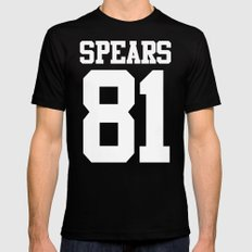 Britney SPEARS 81 MEDIUM Mens Fitted Tee Black