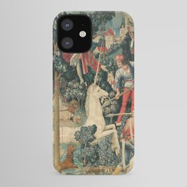 The Unicorn is Attacked iPhone Case