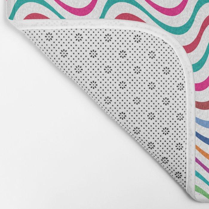 Rippling Colors Bath Mat