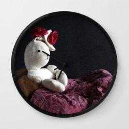 Bunny Muse Wall Clock