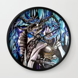 Battle In colour Wall Clock