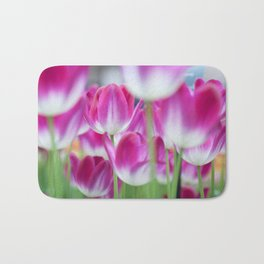 Spring Celebration. Tulips of Keukenhof Bath Mat