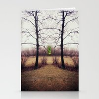 portal Stationery Cards featuring Portal by KunstFabrik_StaticMovement Manu Jobst