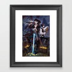 VAMPIRATES Framed Art Print