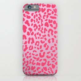 Candy Pink Leopard iPhone Case