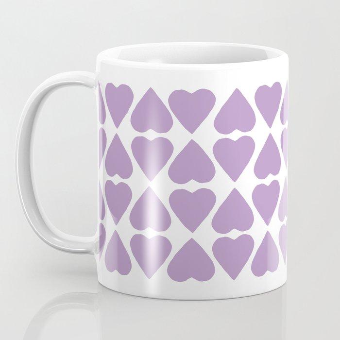 Diamond Hearts Repeat O Coffee Mug