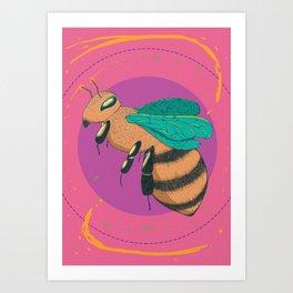 Beeyond Youself Art Print