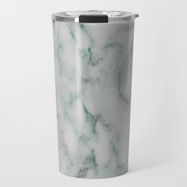 Ariana verde - smoky teal marble Travel Mug