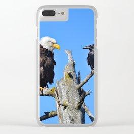 Avian Showdown Clear iPhone Case