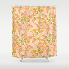 vintage 15 Shower Curtain