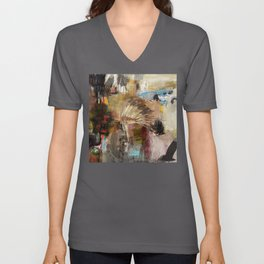 'WALK IN BEAUTY' Unisex V-Neck