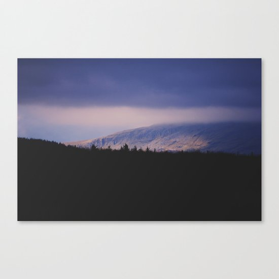 Bleak Mountain #2 Canvas Print
