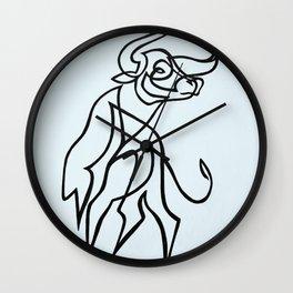 Taurus no.1 Wall Clock