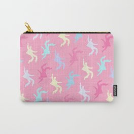 Pastel Elvises Pattern Carry-All Pouch