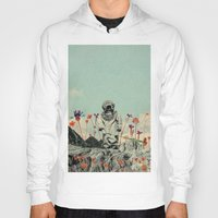 diver Hoodies featuring Lonely Diver by Fajar P. Domingo