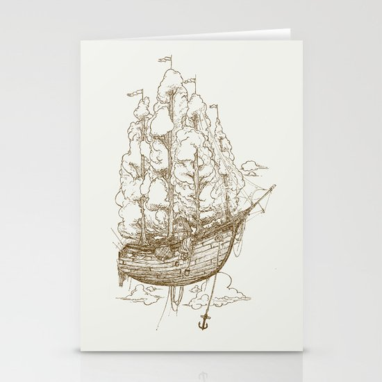 Voyage Home Stationery Cards