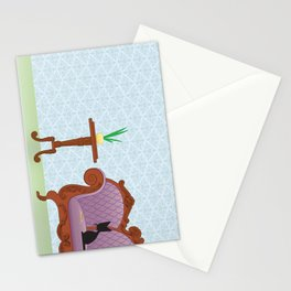 The Naughty Kitten: Polite Company Stationery Cards