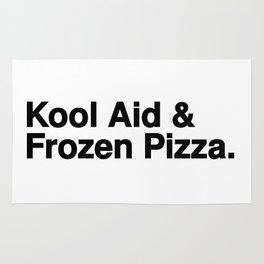 KOOL AID & FROZEN PIZZA Rug