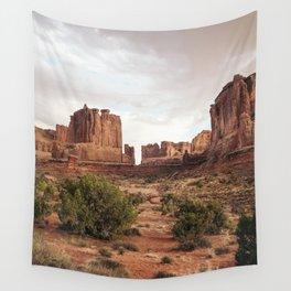 Desert Red Utah Rocks Wall Tapestry