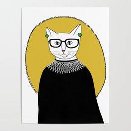 RBG Cat Poster