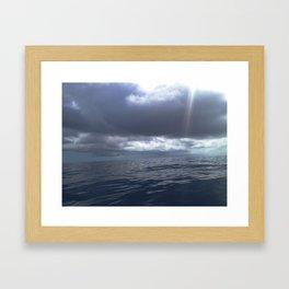 Stillness in the Keys Framed Art Print