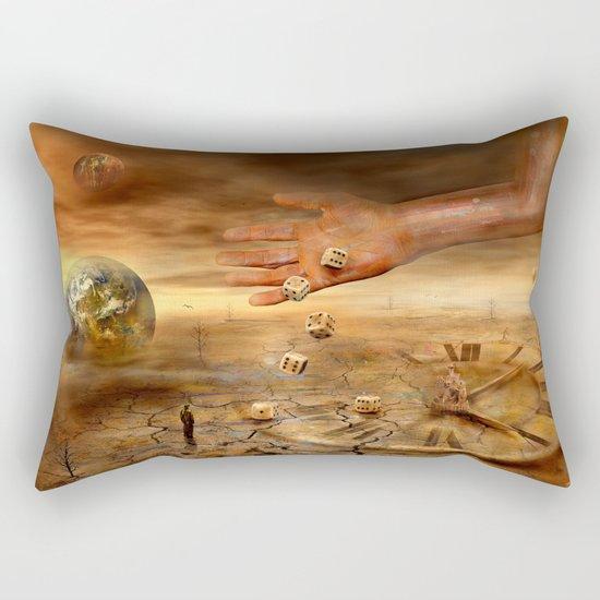 Coincidence or fate Rectangular Pillow
