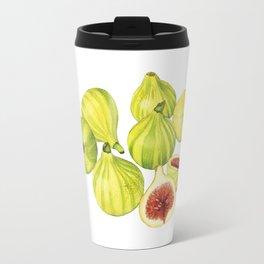 Candy Stripe Figs Travel Mug