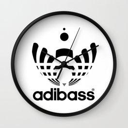 dj adibass Wall Clock