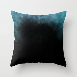 Unmerciful Blue Throw Pillow