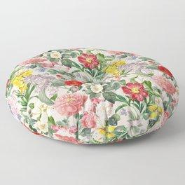 VINTAGE GARDEN  - Pink  Floor Pillow