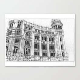 Casa de Allende Canvas Print
