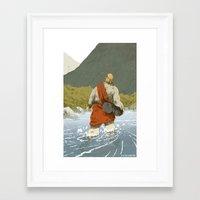 kieren walker Framed Art Prints featuring Walker by Joe Lillington