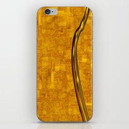ZUMA | yellow gold mozaic iPhone Skin
