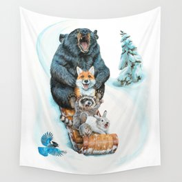 The Big Hill Wall Tapestry