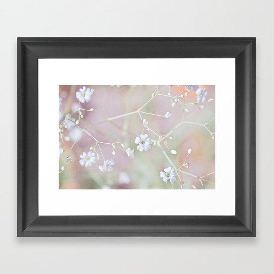 Pastel Wonderland Framed Art Print
