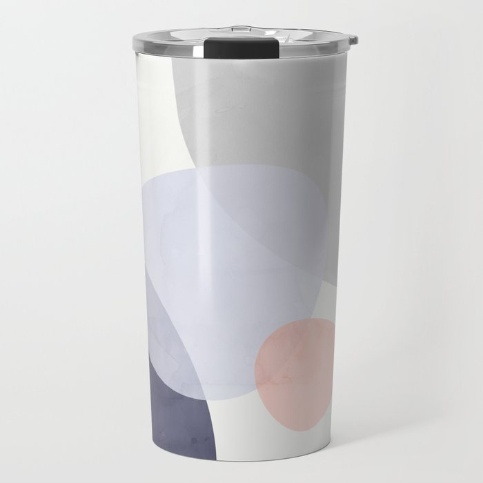 Pastel Shapes III Travel Mug