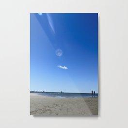 Blue Memory Metal Print