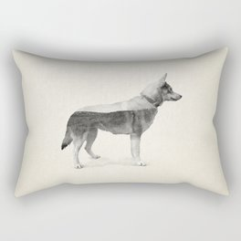 Ghost Dog - Taipa Rectangular Pillow