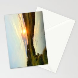 Sunset on Jones Road Stationery Cards