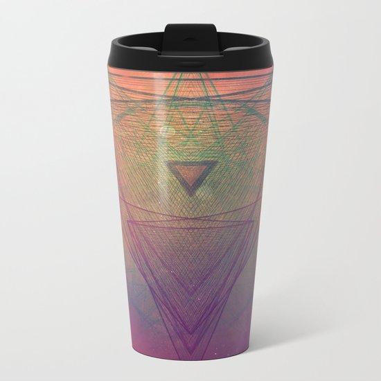 pyrymyd xrayyll Metal Travel Mug