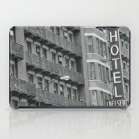 chelsea iPad Cases featuring Chelsea Hotel by Maria Karas