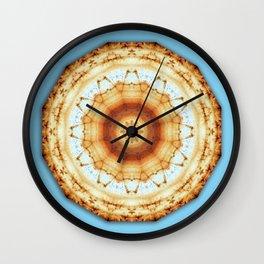 Colors of Rust / mandala-style-rust Wall Clock