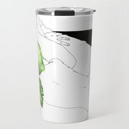 GreenHair Travel Mug
