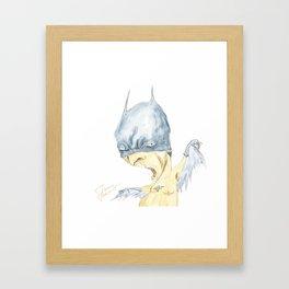 BADMAN Framed Art Print