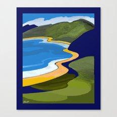 Beach Coast Canvas Print
